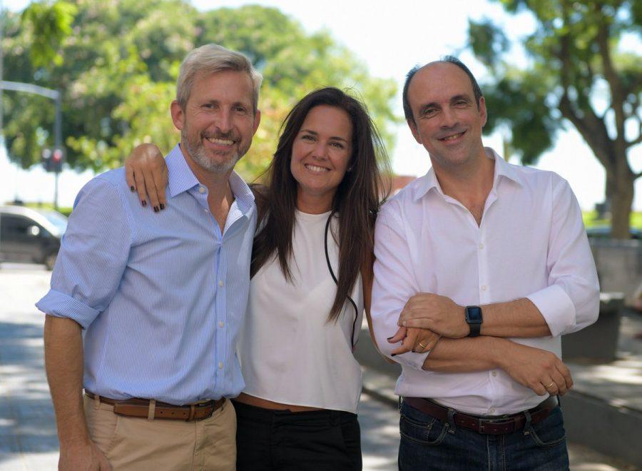 José Corral y Anita Martínez: la foto de la fórmula de Cambiemos