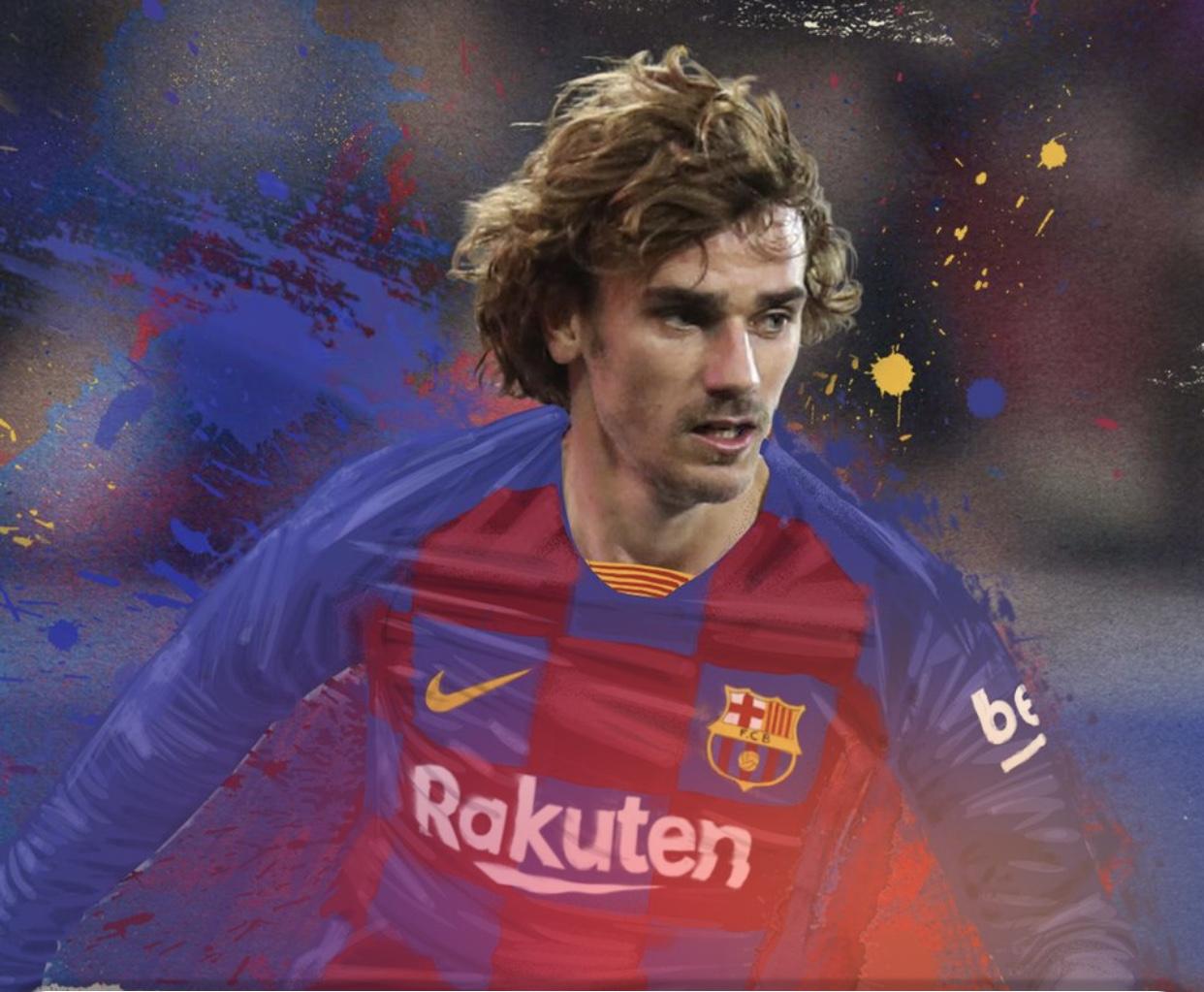 Barcelona oficializó la contratación de Antoine Griezmann