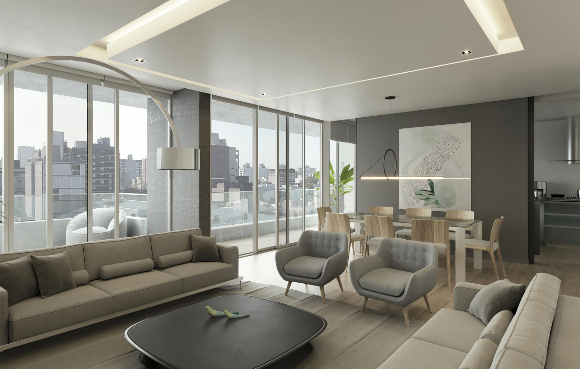 Así es el Cittá Lux, el edificio premium que G70 levanta a metros de Oroño