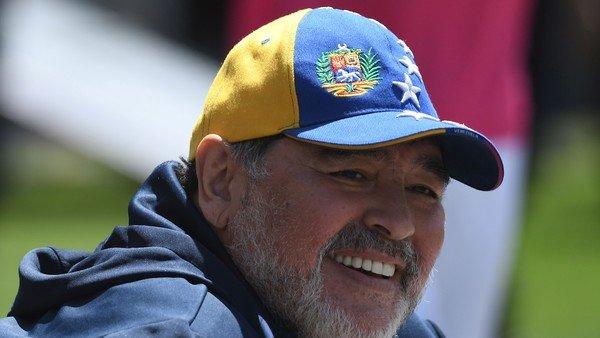El mensaje de despedida de Diego Maradona