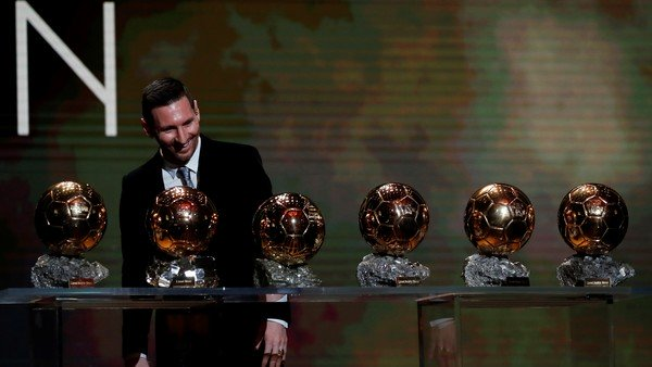 Messi se quedó con su sexto Balón de Oro: la lista histórica de todos los ganadores