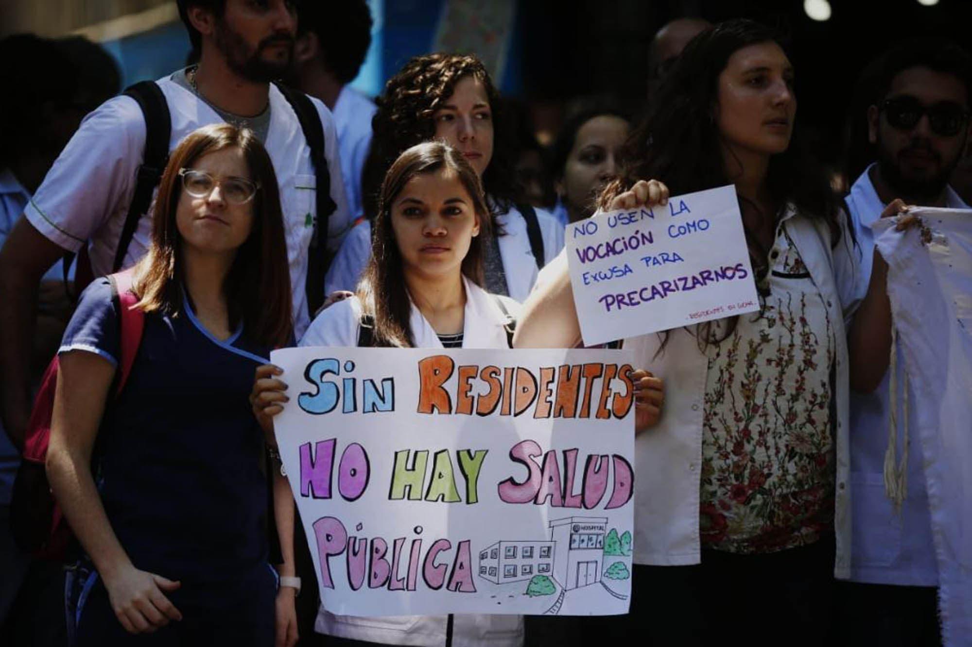 Residencias médicas: la Ciudad ofreció revisar la nueva ley