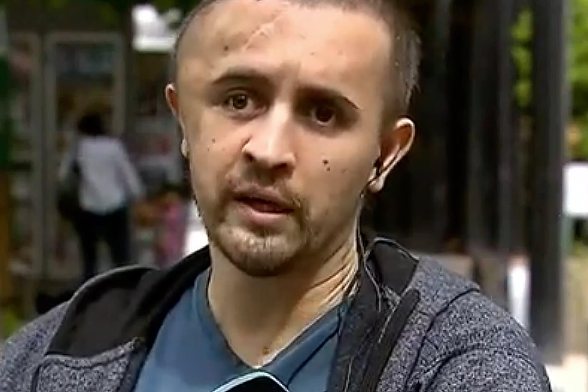 Caso Veppo: dejan salir del hospital al agente de tránsito atropellado