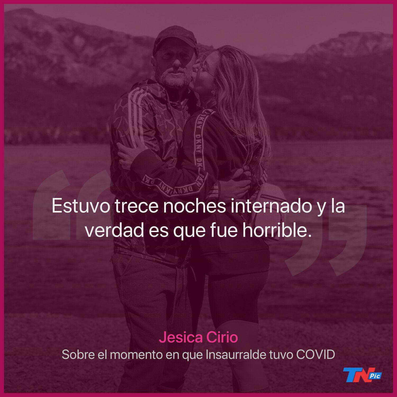 """Jesica Cirio contó lo mal que la pasó durante la internación de Martín Insaurralde por coronavirus: """"Una noche pensé lo peor"""""""