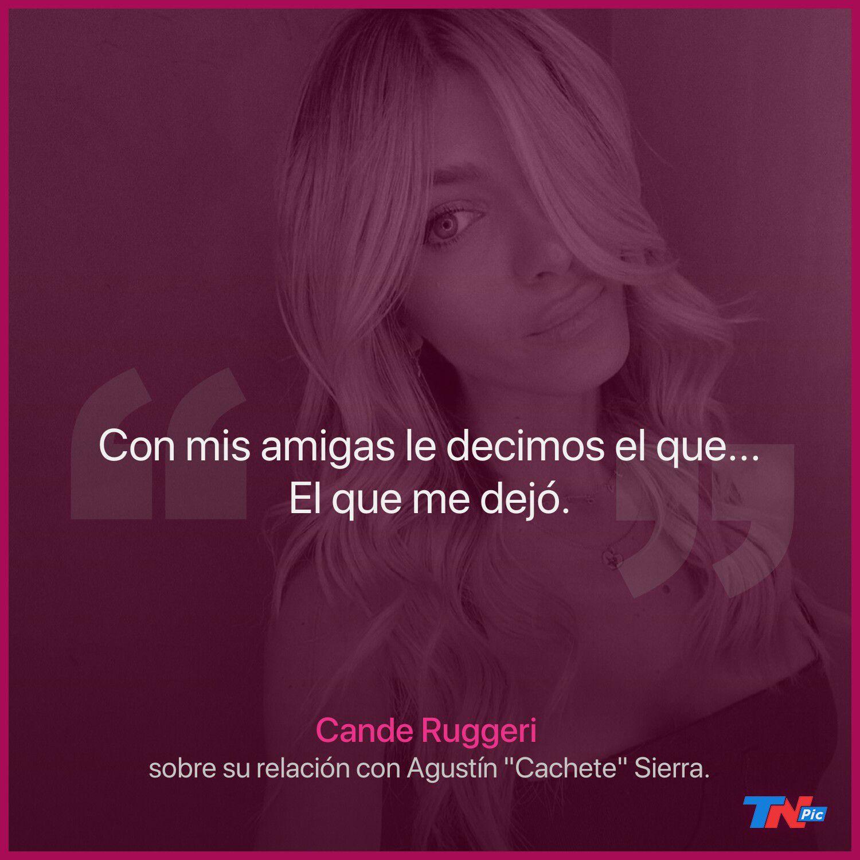 """el-filoso-comentario-de-agustin-""""cachete""""-sierra-sobre-cande-ruggeri:-""""no-volvimos-a-hablar-porque-se-puso-a-salir-con-un-amigo-mio"""""""