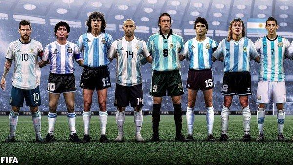 """con-maradona,-messi-y-kempes-a-la-cabeza,-la-fifa-eligio-a-los-16-""""iconos""""-de-la-seleccion-argentina-y-hubo-revuelo-en-las-redes"""