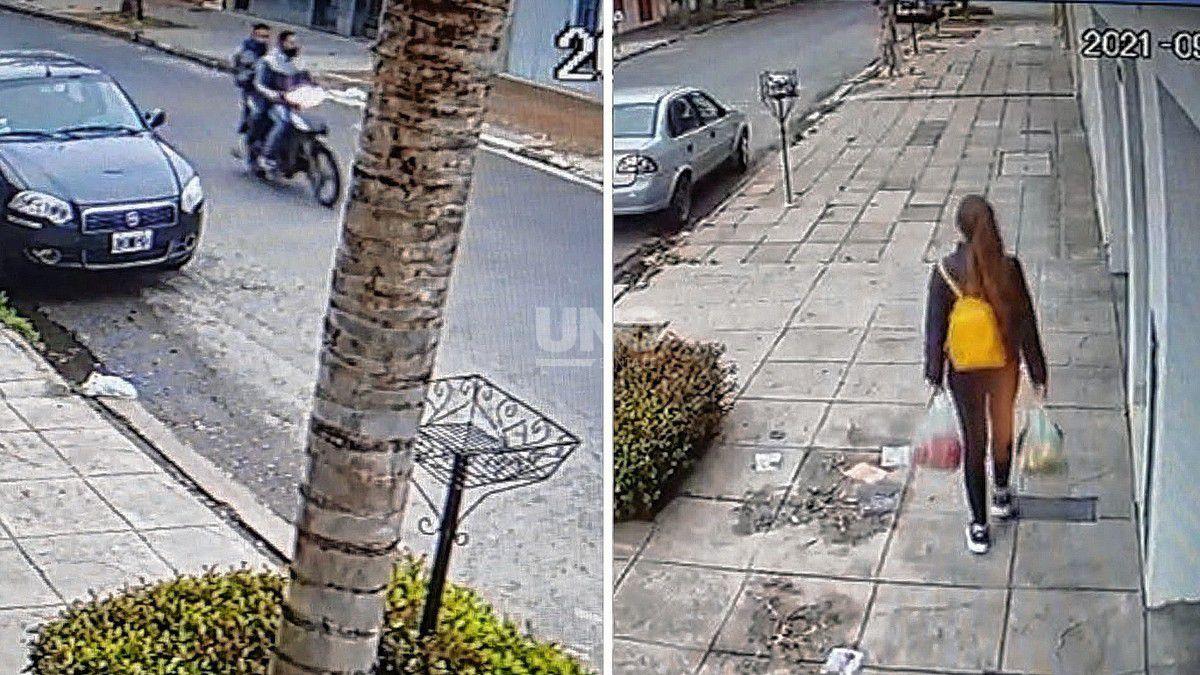 violento-ataque-de-motochorros-a-una-joven
